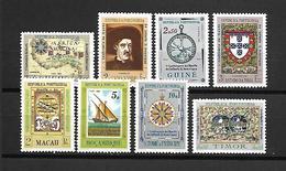Portugal (África) 1960 - Centenário Morte Infante D. Henrique- Serie Completa - Afrique Portugaise