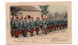 L'appel Du 15e D'infanterie En Manœuvre (entre Epinal Et Laveline) - Animée - 1904  (B54) - Manoeuvres
