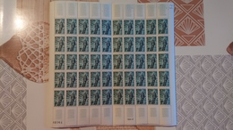 FEUILLE COMPLETE N° Y Et T 1447 ** Année 1965 - Full Sheets