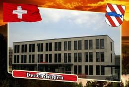 Postcard, REPRODUCTION, Municipalities Of Switzerland, Derendingen 6 - Cartes Géographiques