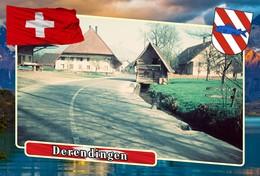 Postcard, REPRODUCTION, Municipalities Of Switzerland, Derendingen 7 - Cartes Géographiques