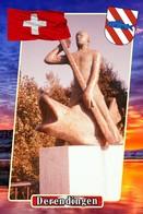 Postcard, REPRODUCTION, Municipalities Of Switzerland, Derendingen 8 - Cartes Géographiques