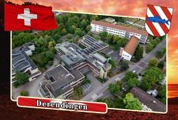Postcard, REPRODUCTION, Municipalities Of Switzerland, Derendingen 9 - Cartes Géographiques