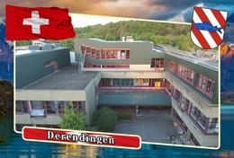 Postcard, REPRODUCTION, Municipalities Of Switzerland, Derendingen 10 - Cartes Géographiques