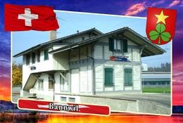 Postcard, REPRODUCTION, Municipalities Of Switzerland, Bannwil - Landkaarten