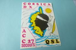 CORSICA DX ...RADIO CLUB ACC27 - Zonder Classificatie