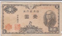 Japon - Billet De 1 Yen - Ninomiya Sontoku - Non Daté (1946) - P85 - Japon