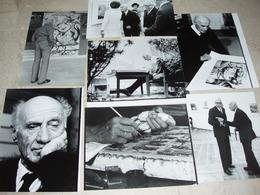 ! TOP Sammlung Von üb.200 Photos, Fotografien Vom Künstler A.Paul Weber Ca.1970-1983, Kunst, Art, Peintre, Maler, Artist - Identifizierten Personen