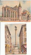 CPA Fantaisie - Epinal (88) -  Collection De 4 Cartes Artistiques De Barday - Costumes