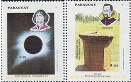 Ref. 350729 * MNH * - PARAGUAY. 1994. TOTAL ECLIPSE OF THE SUN . ECLIPSE TOTAL DEL SOL - Klimaat & Meteorologie