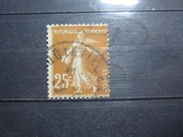 """VEND BEAU TIMBRE DE FRANCE N° 235 , OBLITERATION """" JOINVILLE """" !!! - 1906-38 Semeuse Camée"""