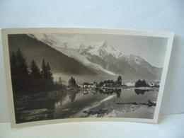 CHAMONIX  74 HAUTE SAVOIE LA PISCINE ET LE MONT BLANE CPSM FORMAT CPA 1952 EDITION G.TAIRRAZ CHAMONIX MONT BLANC - Chamonix-Mont-Blanc