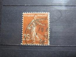 """VEND BEAU TIMBRE DE FRANCE N° 235 , OBLITERATION """" VILLEURBANNE """" !!! - 1906-38 Semeuse Camée"""
