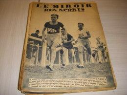 MIROIR Des SPORTS 1054 14.03.1939 CROSS COUNTRY LALANNE TENNIS Yvon PETRA - Deportes