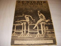 MIROIR Des SPORTS 1083 22.08.1939 ATHLETISME CYCLISME CLOAREC AVION ROSSI - Deportes