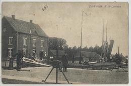 Lozen - Loozen Zicht Op Sluis 17 - Bocholt (prachtkaart Binnenscheepvaart, Navigation Intérieure) - Bocholt