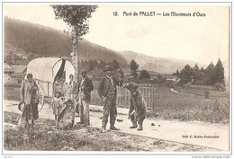 .PONTARLIER PONT De PALLET .LES MONTREURS D'OURS...NOUVELLE EDITION.. CARTE POSTALE.. - Pontarlier