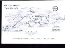 RC565 MONTE DI MALO , VICENZA , BUSO DELLA RANA , PIANTA DELLA GROTTA - Mountaineering, Alpinism