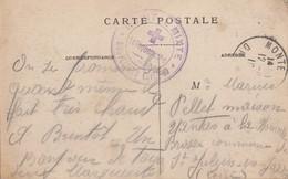 DROME CP 1916 MONTELIMAR FM HOPITAL MIXTE MONTELIMAR - 1877-1920: Période Semi Moderne