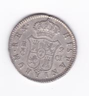 Superbe 2 Réales 1811 CI  SUP  (une Part Du Brillant D'origine) - Collections
