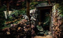 Pionier-Unterstand Mit Originellem Spruch. 1914/15 WWI WWICOLLECTION - War 1914-18