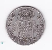 Superbe 2 Réales 1800 MF Madrid SUP - Colecciones