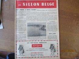 LE SILLON BELGE DU 19 FEVRIER 1955 LE CHEVAL DE TRAIT BELGE,LES CONCOURS DE HUY ET WAVRE LE BLEU-BLANC DE LA HESBAYE ET - Animaux
