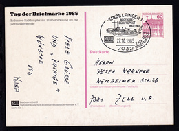 Tag Der Briefmarke 1985 Mit Sonderstempel - Ohne Zuordnung