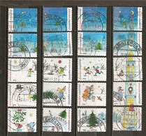 Pays-Bas Netherlands 2013 Noel X-mas Set Complete Obl - Periodo 1980 - ... (Beatrix)