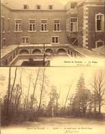 Lot 2 Cartes - Carmel De Corioule - Le Préau Et Jardin (Assesse) (prix Fixe) - Assesse