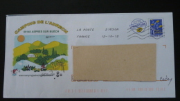 Petanque Camping Aspres 05 Hautes Alpes PAP Postal Stationery 2318 - Bowls