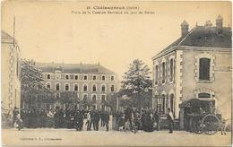 CHATEAUROUX : PORTE DE LA CASERNE BERTRAND - Chateauroux