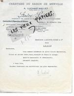 78 - Yvelines - ARGENTEUIL - Facture LUCHART - Construction Et Réparations De Bateaux, Scierie - 1944 - REF 140C - 1900 – 1949