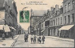 62      Aire Sur La Lys      Rue De Saint-omer - Aire Sur La Lys