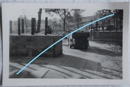 Photo VIANDEN Barrage Schuster Mai 1940 Strassensperre Frontière Zoll Trajet 2 Panzer Division Luxembourg Luxemburg - Lieux