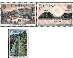 Ref. 72219 * MNH * - ST. HELENA. 1979. 150th ANNIVERSARY OF THE CONSTRUCTION OF THE INCLINED PLAN . 150 ANIVERSARIO DE L - Dogs