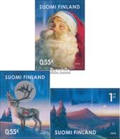 Finnland 2057-2059 (kompl.Ausg.) Postfrisch 2010 Weihnachten - Finland