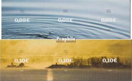 Finnland 1882Fb-1885Fb (kompl.Ausg.) Folienstreifen Postfrisch 2008 Wasser Und Schären - Finland