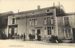 BOURMONT (Hte Marne) HOTEL & CAFE DE LA GARE  Animée  RV - Bourmont