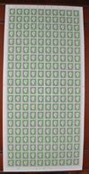 Feuille Complète De 100 Valeurs France 1945. ~ YT 698** - 10 F. Marianne De Dulac. Série De Londres - Full Sheets