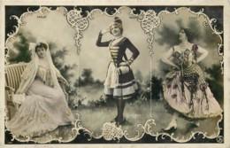 Célébrités - Artistes - Femmes -  Otero - Harlay - Baxone - Artistes