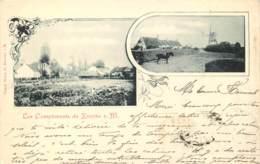 Knokke - Type Gruss Aus - Les Compliments De Knocke S. M. - Edit. Grand Hôtel De Knocke S. M. - Knokke