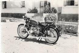 PHOTOS - Photo D'une Moto B.M.W De L'Armée Prise à BOULHAUT LE 01_01_1958 - - Guerre, Militaire