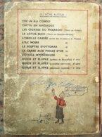 HERGÉ - ALBUM TINTIN L'ÉTOILE MYSTÉRIEUSE ÉDITION 1943 A18 - CÔTE 2000€ - TRES MAUVAIS ETAT - Hergé