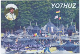 Q 12 - 326-a ROMANIA - Scoutisme - Germany Wolsburg, Almke Camp. - 2010 - Amateurfunk