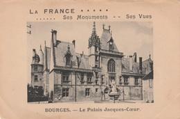 Carte Postale De BOURGES, Le Palais Jacques-Coeur - Bourges