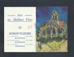 CALENDRIER 1986 TYPE CARNET CONSEILS FLEURS : - Kalender