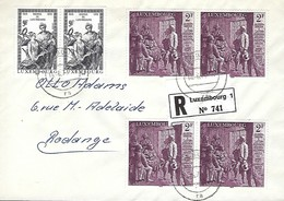 Luxembourg - Lettre Recommandé - Luxembourg
