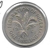 *nigeria 1 Shilling 1961 Km 5 Xf+ - Nigeria