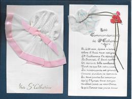 Bonnet De Ste Catherine - 2 Cartes - Sainte-Catherine